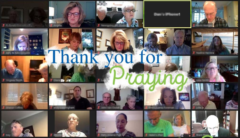 NewSpring Center Breakfast Prayer